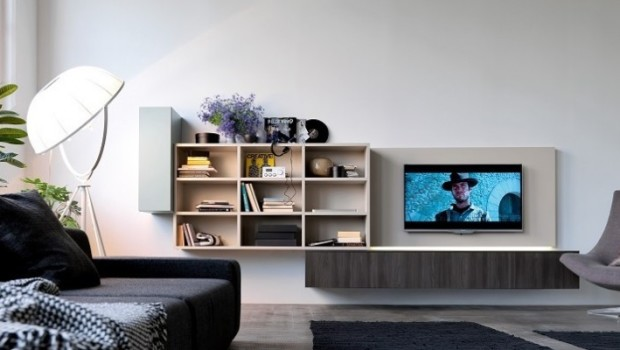 Mobili per tv con fili nascosti, come sono realizzati ...