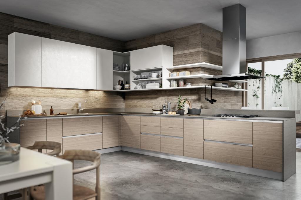 Cucine classiche e moderne per brescia e mantova - Cucina color panna ...