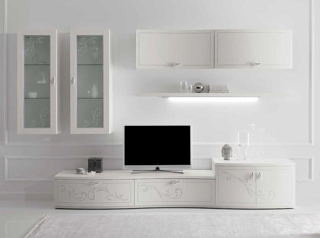 Soggiorni e pareti attrezzate mantova e brescia for Arredi per pareti