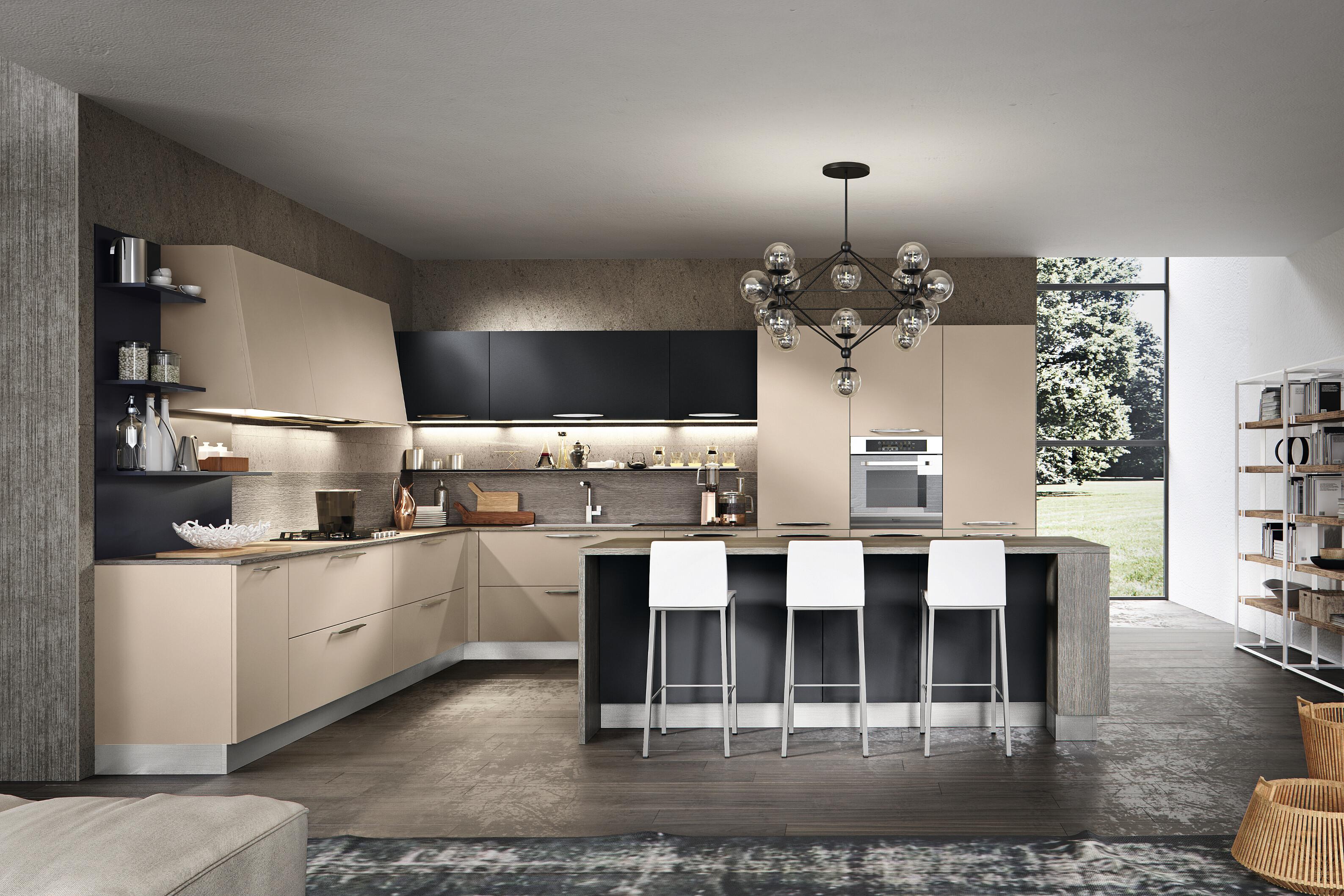 Cucine classiche e moderne per brescia e mantova arredamenti volonghi - Cucine componibili classiche lineari ...